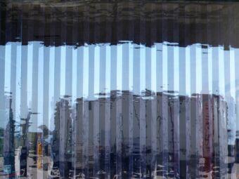 Strisce in PVC trasparenti